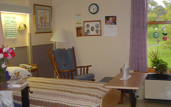 Resident Room From Crouse Community Center