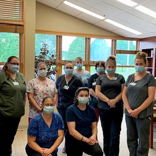 ADHC CNAs from Crouse Community Center